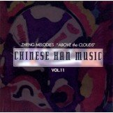 """Han: Chinese Music- Zheng Melodies """"Above the Clouds"""" CD"""